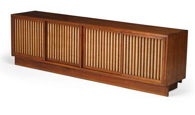 George Nakashima, 'Large Quadruple Sliding Door Cabinet, New Hope, PA'