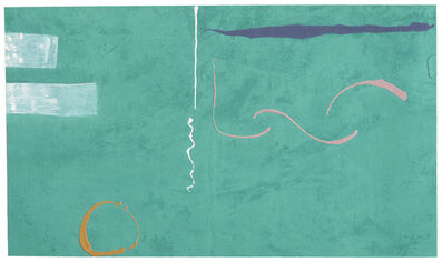 Helen Frankenthaler, 'Tahiti', 1989