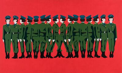 Mina Cheon, 'Line up Kim Il Soon II', 2015