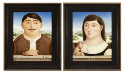 Mihaela Atomei, 'Portrait of a Man and a Woman'