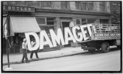 Walker Evans, 'Truck & Sign', ca. 1929