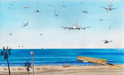Cole Case, 'Vista Del Mar Park Looking 250 degrees West, 12.15.15', 2015