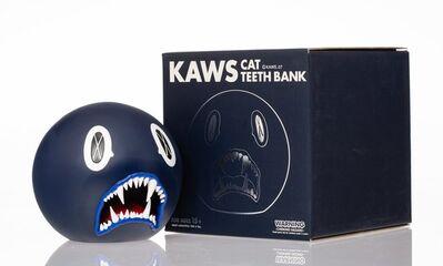 KAWS, 'Cat Teeth Bank (Navy)', 2007