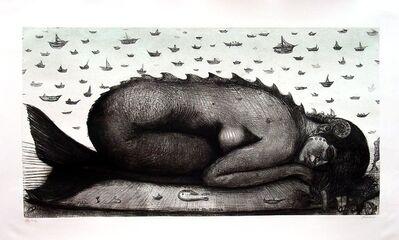 Roberto Fabelo, 'Dream Of Mermaid', 2001