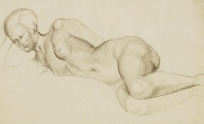 Christopher Wood, 'RECLINING NUDE, c.1928-1930'