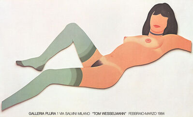 Tom Wesselmann, 'Galleria Plura poster', 1984