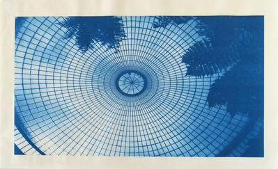 Penelope Stewart, 'Oculus Dome, Kibble Palace, Glasgow (phthalo blue)', 2018