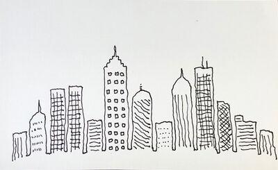 Mindy Alper, 'Untitled (skyline with windows)', n.d.