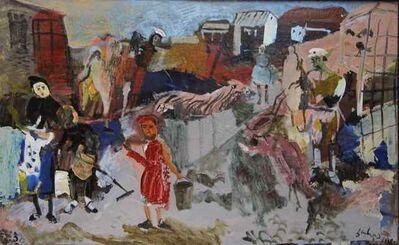 Jemal Kukhalashvili, 'Zoo keepers', 1989