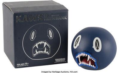 KAWS, 'Cat Teeth Bank (Navy)'