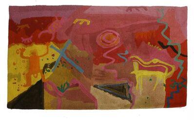 Barbara Rae, 'a hand tufted floor rug', c.1995-7