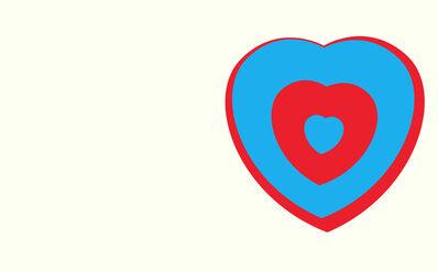 Marcel Duchamp, 'Coeurs Volants - Fluttering Hearts', 1961