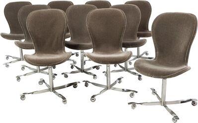 Gideon Kramer, 'Ten Ion Chairs', circa 1960