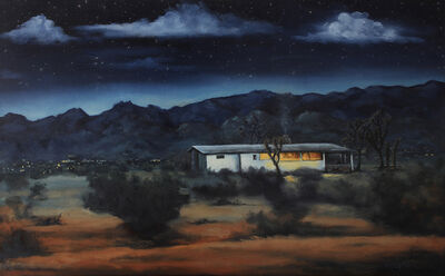 Marcia Geiger, 'Night View Of The Park', 2018