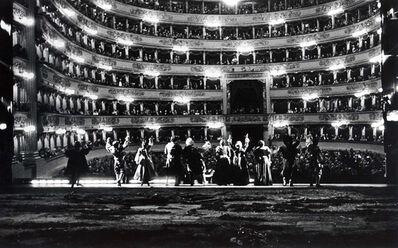 Silvia Lelli e Roberto Masotti, 'Specchio-scena (Le Pelerin, Anacreon), Teatro alla Scala, Milano', 1983