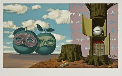 René Magritte, 'Sur La Visage, XI', 1968