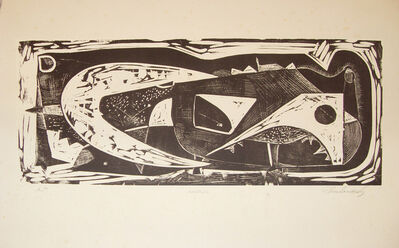 Rodolfo Abularach, 'Animal', 1956