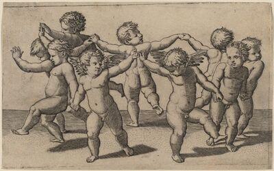 Marcantonio Raimondi after Raphael, 'Dance of Cupids'