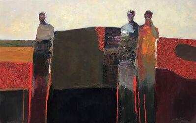 Dan McCaw, 'Figures in Landscape', 2018