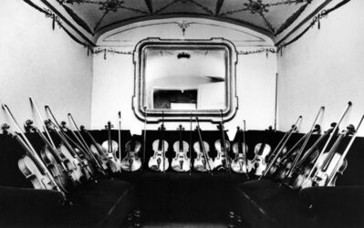 Silvia Lelli e Roberto Masotti, 'Il concertino dei violini, Teatro alla Scala, Milano', 1980