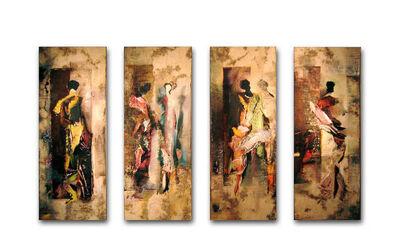 Claudia Meyer, 'En passant I, II, III & IV', 2004