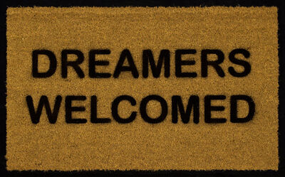 Chris Rupp, 'Dreamers Welcome', 2018