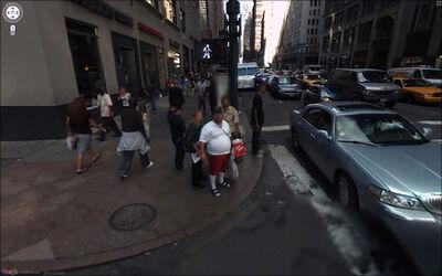 Jon Rafman, '204 W 35th St., New York, NY, USA', 2009