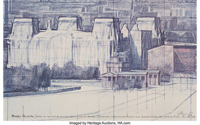 Christo, 'Wrapped Reichstag', 1978