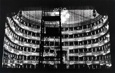 Silvia Lelli e Roberto Masotti, 'Dal palcoscenico-tulle/schermo, Teatro alla Scala, Milano', 1983