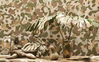 Washington Silvera, 'Bodegón camuflado', 2018