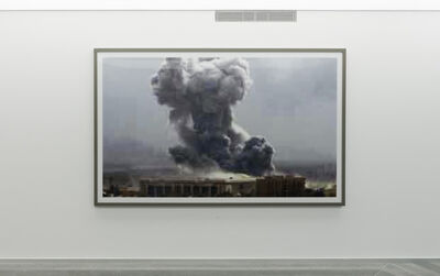 Thomas Ruff, 'Jpeg bb01. Bahdad Bombing', 2004