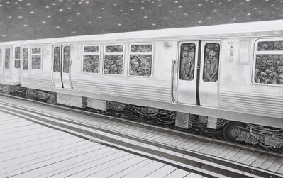 Laurie Lipton, 'Midnight Commuters', 2007