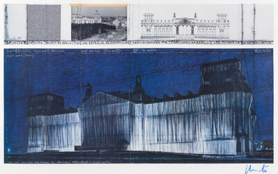 Christo and Jeanne-Claude, 'Wrapped Reichstag, Berlin'
