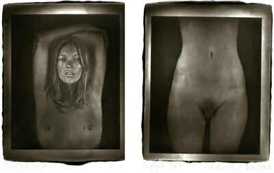 Chuck Close, 'Kate Diptych', 2012