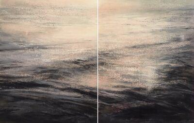 Margaret Ezekiel, 'Walking On Water, Diptych', 2016