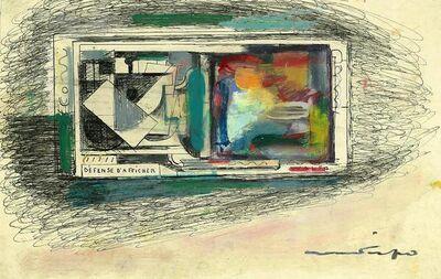 Walter Firpo, 'Défense d'afficher', ca. 1930
