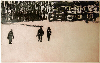Peter Doig, 'From Pond Life (Pink) From Ten Etchings', 1996