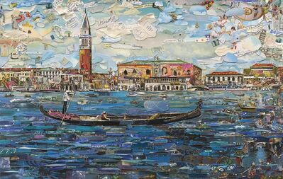 Vik Muniz, 'Venice (Postcards from Nowhere)', 2014