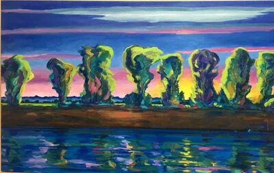 Anthony Montanino, 'River Road Sunset', 2018
