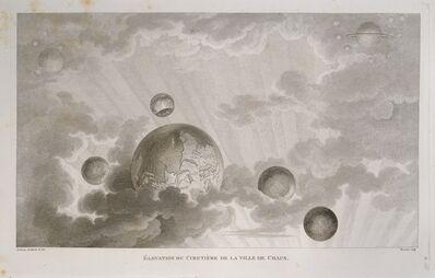 Claude Nicolas Ledoux, 'El'vation du cimetiŠre de la ville de Chaux', 1846