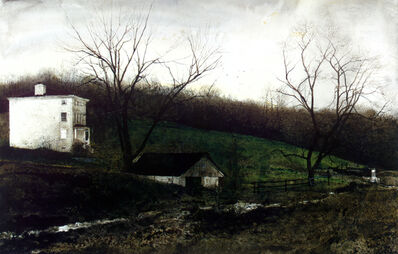 Andrew Wyeth, 'Evening at Kuerners', 1970