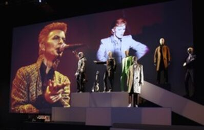 David Bowie, 'Installation view: Area 19 – Additional Costumes'