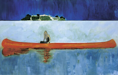 Peter Doig, '100 Years Ago (Carrera)', 2001