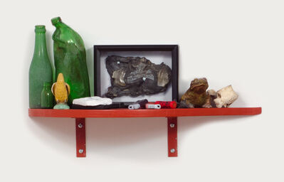 Andy Steinbrink, 'Slow Down Ruby (Shelf with Kama Sutra Tape)', 2014