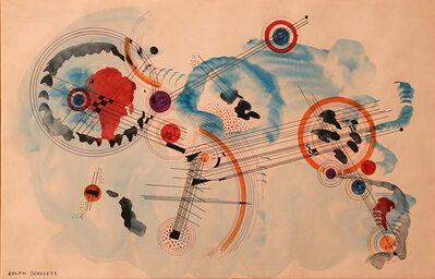 Rolph Scarlett, 'Andante in Blue (Solomon R. Guggenheim Foundation)', 1935