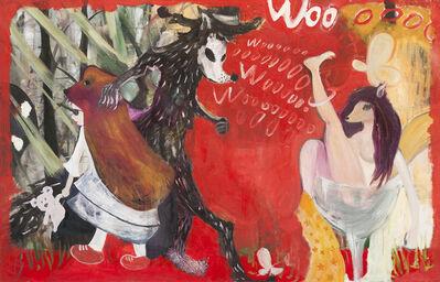 Li Quanshan, 'Learning wolf cry', 2013