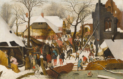 Pieter Bruegel the Younger, 'The Adoration of the Magi in the snow'