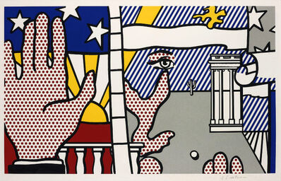 Roy Lichtenstein, 'Inaugural Print (from the Inaugural Impressions portfolio)', 1977