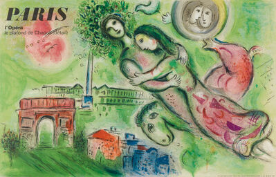 Marc Chagall, 'Romeo and Juliet', 1964