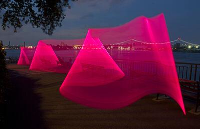 Vicki da Silva, 'East River Esplanade 3', 2014
